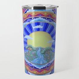 Beautiful World Mandala Travel Mug