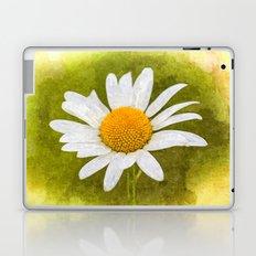 Single Daisy Art Laptop & iPad Skin