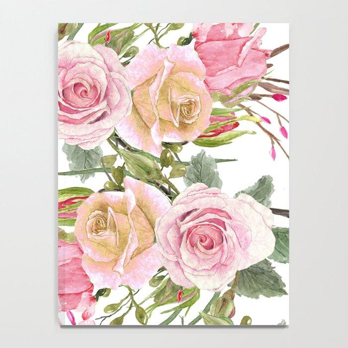 Watercolor Roses #1 Notebook