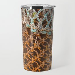 texture - connections Travel Mug