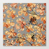 quilt Canvas Prints featuring Dogwood Quilt by Olivia Joy St.Claire - Modern Nature / T