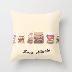 Nutella-324 Throw Pillow