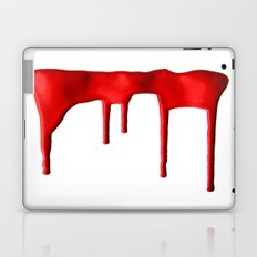 Red Splatter Laptop & iPad Skin