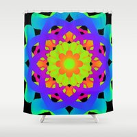 you are my sunshine Shower Curtains featuring You Are My Sunshine by Sara Valor