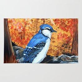 Blue Jay Life Rug