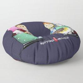 MATRYOSHKA CONFUSED Floor Pillow
