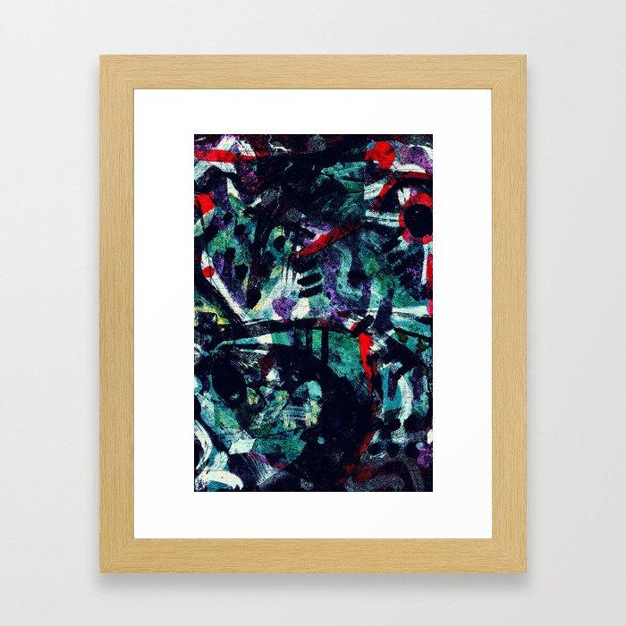 Pattern № 25 Framed Art Print