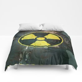 Radioactive (Marie Curie Edition) Comforters