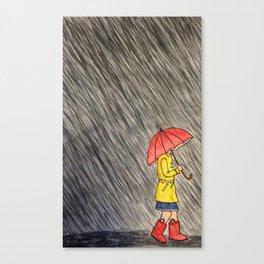 Torrential Downpour Canvas Print