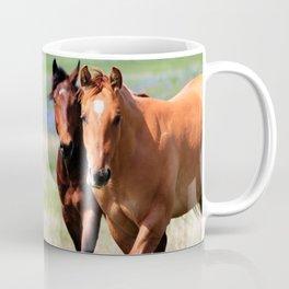 Horses & Bluebonnets II Coffee Mug
