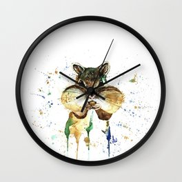 Chipmunk - Feeling Stuffed Wall Clock