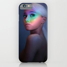 Ariana Gra-nde Music Poster iPhone Case