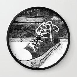 Get Chucked Wall Clock