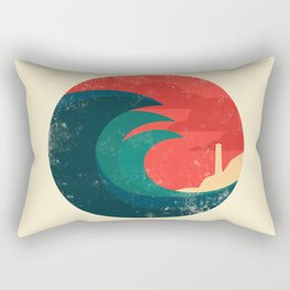 The wild ocean Rectangular Pillow