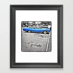 BLUE! Framed Art Print
