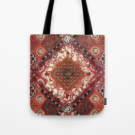 Tribal Warmth Tote Bag