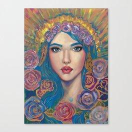 Radiant Maria Canvas Print