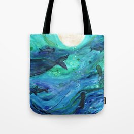 """Dreams of the Deep"" Tote Bag"