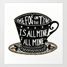 The Fog on the Tyne Tea Cup Art Print