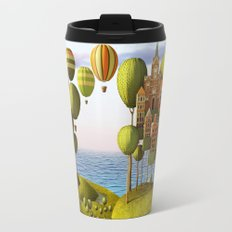 City in the Sky_Lanscape Format Travel Mug