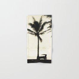 Antique Model-T on the Beach at Waikiki Hand & Bath Towel