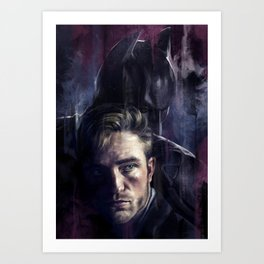 Bruce Wayne Art Print