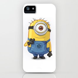 Minion - Carl iPhone Case