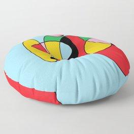 Circulos mult color Floor Pillow