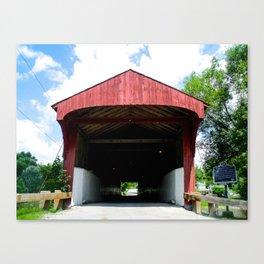 West Montrose Covered Bridge 2 Canvas Print