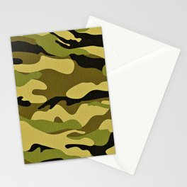 Camouflage Realistic! Stationery Cards