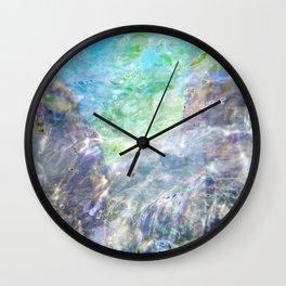 Aqua 7 Wall Clock