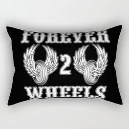 Forever 2 Wheels Rectangular Pillow