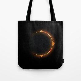 Burger Eclipse Tote Bag
