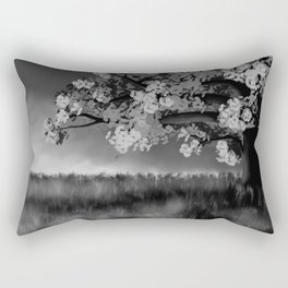 Tree in the Mist Rectangular Pillow