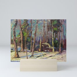 Tom Thomson Larry Dickson's Shack 1914 Canadian Landscape Artist Mini Art Print
