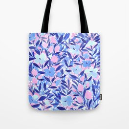 Nonchalant Blue Tote Bag