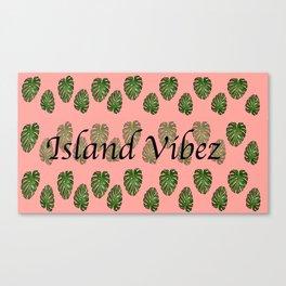Island Vibez Canvas Print