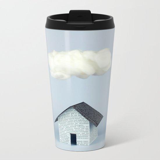 A cloud over the house Metal Travel Mug