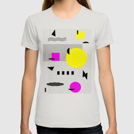 Hello Memphis Lemon Splash T-shirt