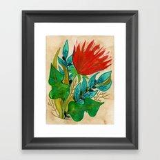Mazikeen Framed Art Print