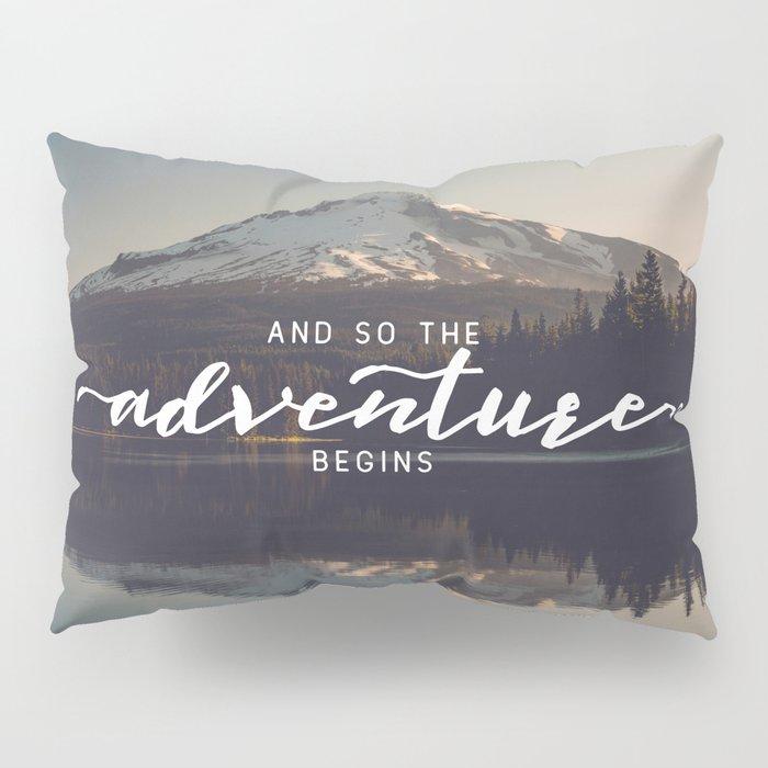Trillium Adventure Begins - Nature Photography Pillow Sham