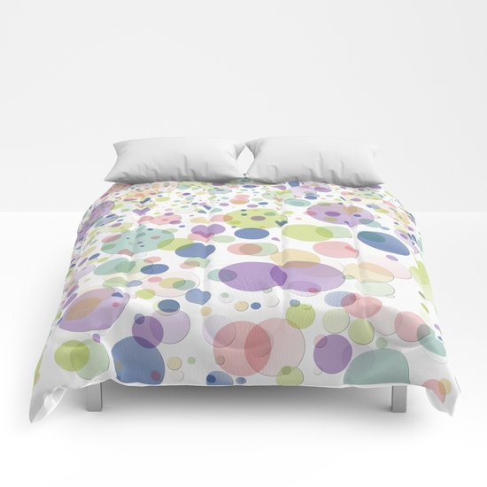 Pattern dots springcolors Comforters