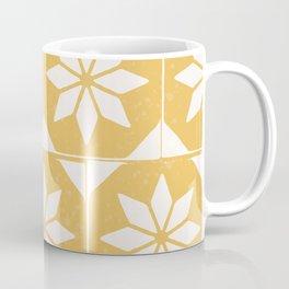 Tiles in yellow Coffee Mug
