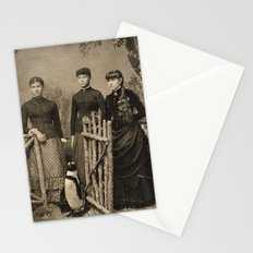 Antique Tintype Penguin Stationery Cards