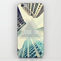 buildings iPhone & iPod Skins featuring Buildings by Sofia Tirronen