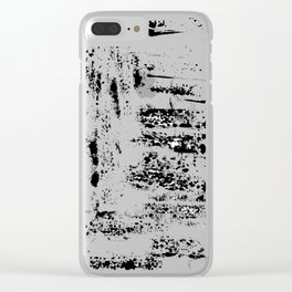 Paper textures Clear iPhone Case