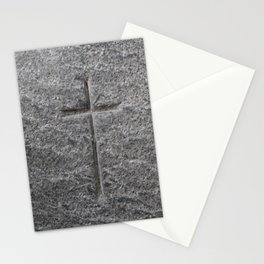 Holy Cross - Iona Abbey - Isle of Iona - Scotland Stationery Cards