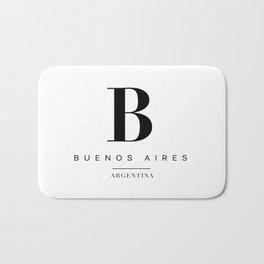Buenos aires Bath Mat