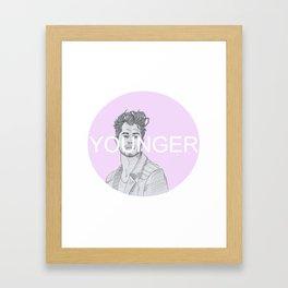 Younger #2 Framed Art Print