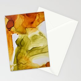 Autumn Ink Composition Stationery Cards